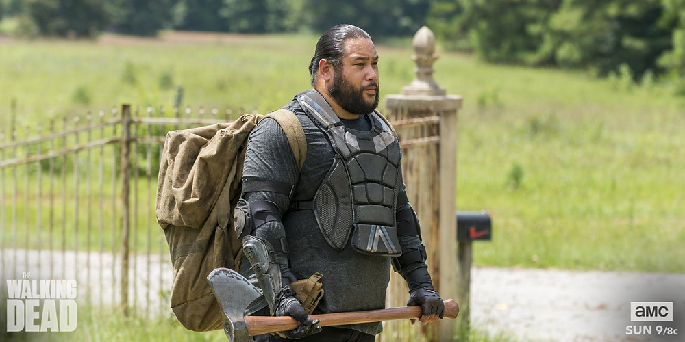 Cooper Andrews (aka Jerry in TWD)