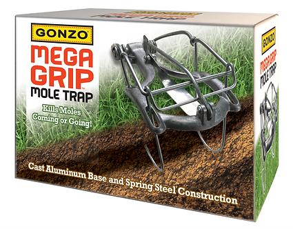 GONZO® 5013 MEGA-GRIP® MOLE TRAP