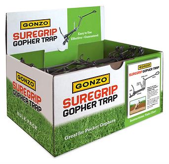 GONZO® 5006 BULK - SUREGRIP® GOPHER TRAP - 24 Count