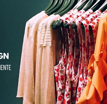 A moda e o design