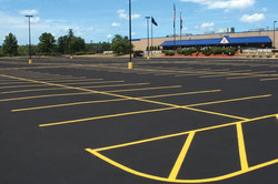 commercial lot striping