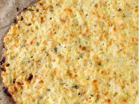 Recipe: Gluten Free Cauliflower Pizza Crust