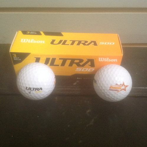 Roanoke Rampage 3 pk Golf Balls