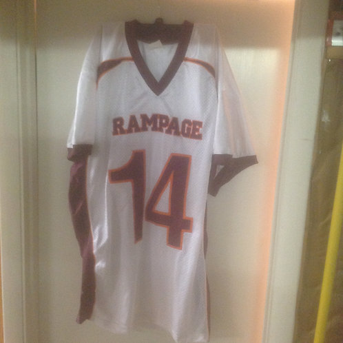 White #14 ThrowBack Jersey
