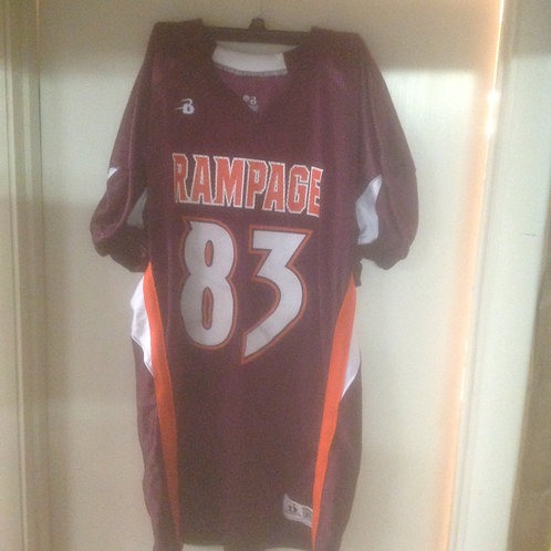 Maroon #83 ThrowBack Jersey