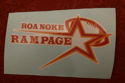Rampage Car Decals
