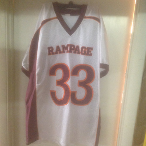 White #33 ThrowBack Jersey