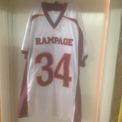 White #34 ThrowBack Jersey