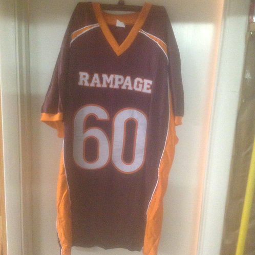Maroon #60 ThrowBack Jersey