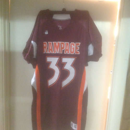 Maroon #33 ThrowBack Jersey