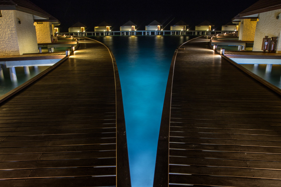 Nakai Resort Alimathà night
