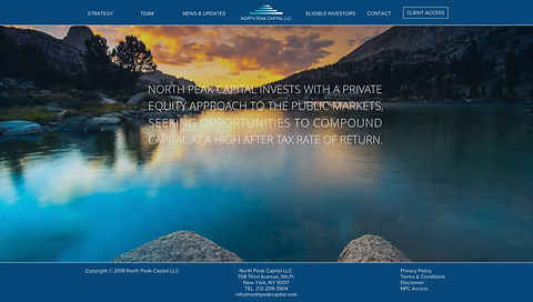 North Peak Capital LLC