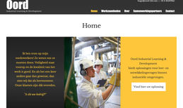 Oord Industrial Learning & Design Complete website redesign.