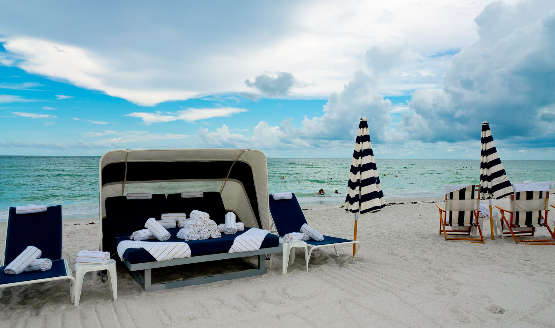 Beach naps!