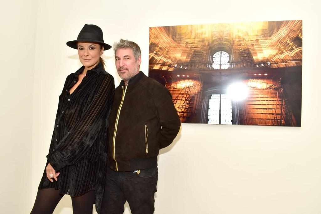 Roberto Lambana and Magda von Hanau