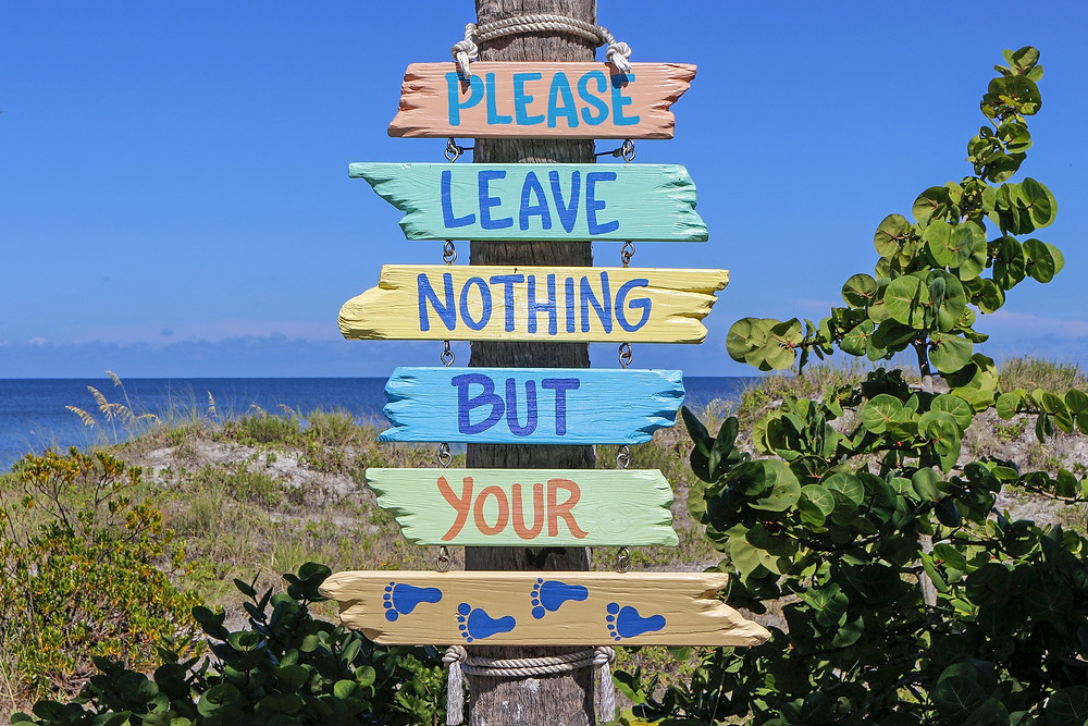 Leave no trace Gulf County
