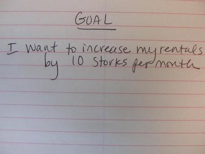 goal, note, writing