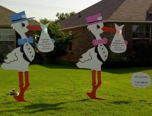 Stork Sign Rental