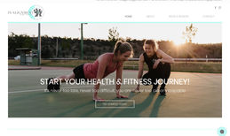 In Alignment Personal Training Classic website for InAlignment Personal Training....