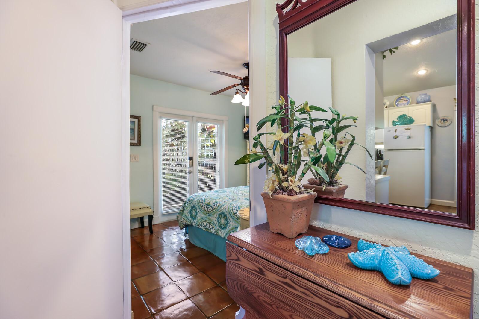 Orchid Villa mirror