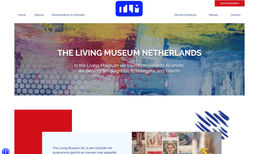 The Living Museum NL New website for the Living Museum NL with a bright...