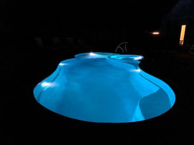 Pool at night 2
