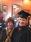 Graduation with Author Sena Jeter Naslund