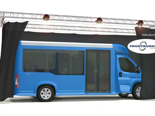 N.E.W. Launches Frontrunner Lowered Floor Bus