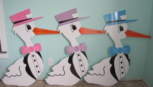 stork, newborn, stork sign