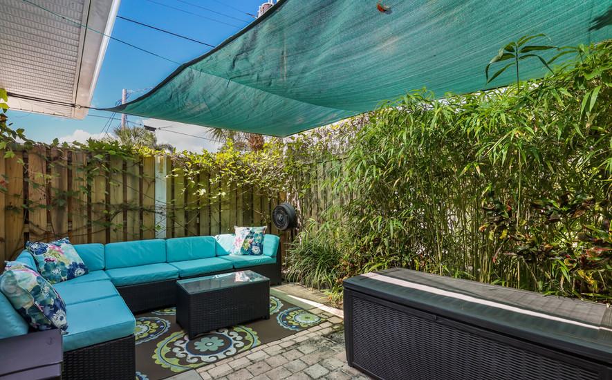 Orchid Villa patio seating