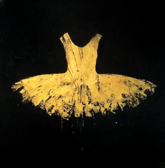 Golden Opera Dress 2018