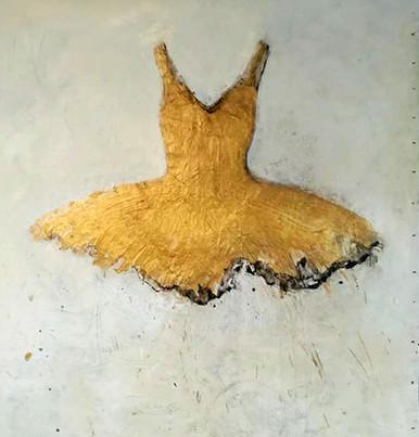Golden Tutu, 2018 (sold)