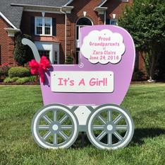 Lavendar Carriage Girl