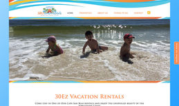 30Ez Vacation Rentals Full web design of an extensive vacation rental we...