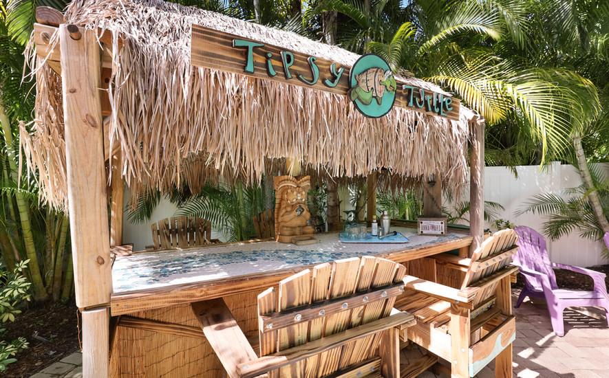 Poolside Tiki Bar