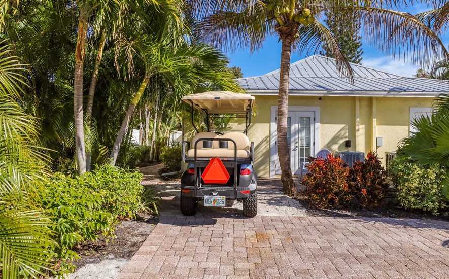 Golf cart and driveway parking