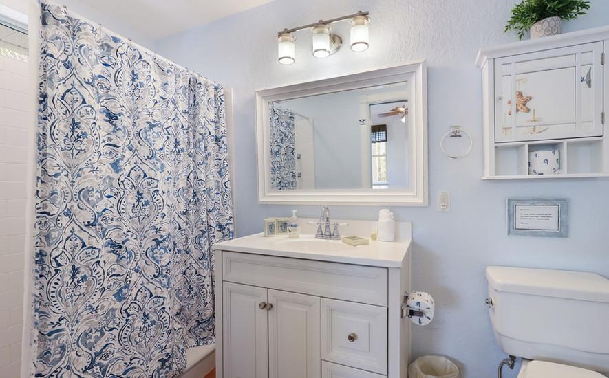 Oleander Villa bath with walk-in shower