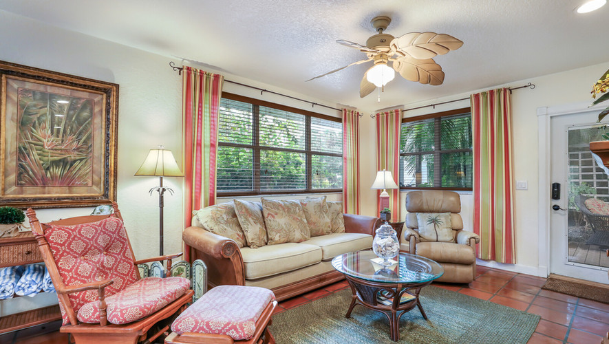 Palm Villa luxurious living room