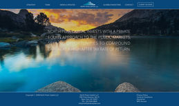 North Peak Capital - Financial This is a website for a capital investment company...