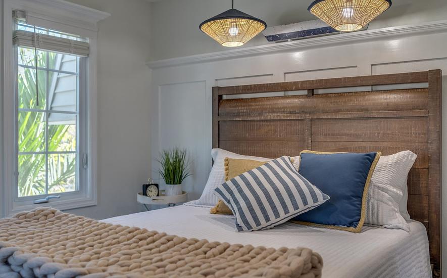 Third bedroom queen bed