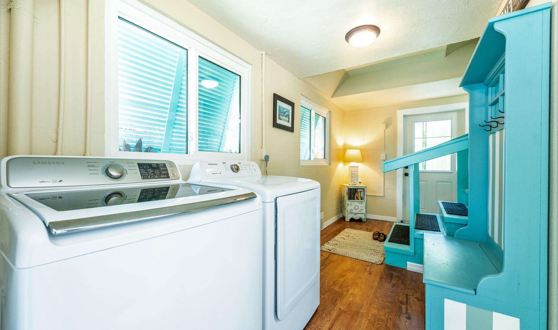 Ground floor laundry area