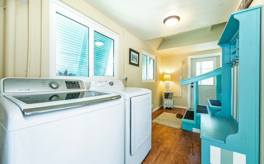 Ground floor laundry area