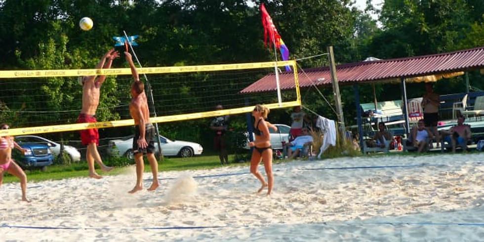 Co-ed 6's Beach volleyball league