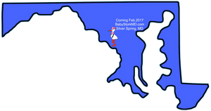 washington, map
