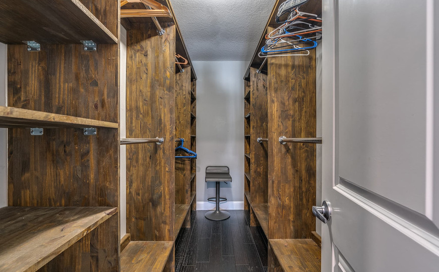 Huge Walk in master closet