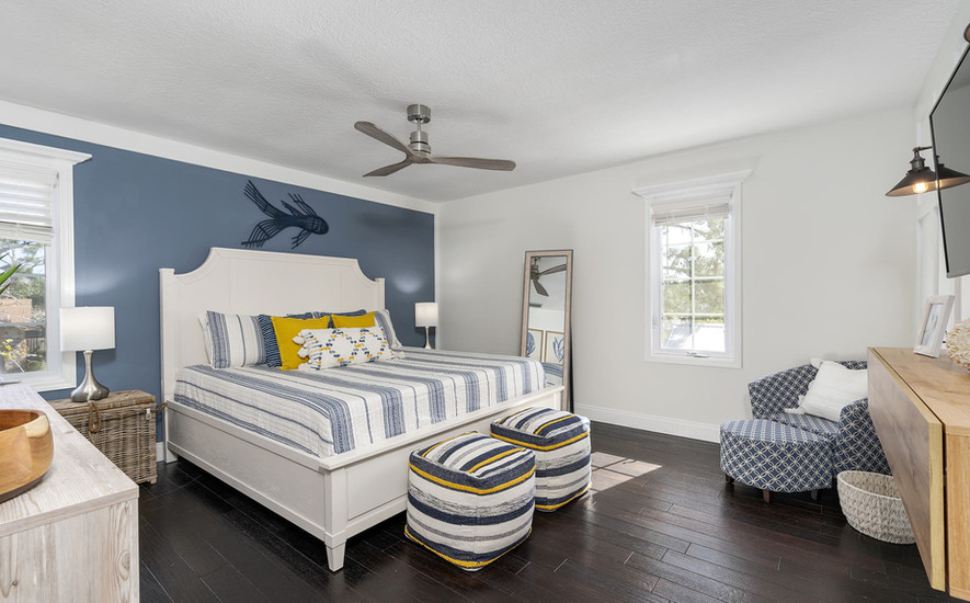Beautiful king bedroom
