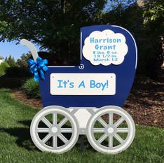 Blue Carriage Boy
