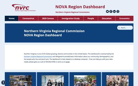 NOVA Region Dashboard
