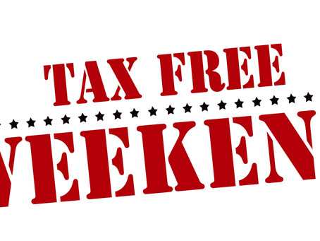 SC's Tax Free Weekend – August 4-6, 2017!