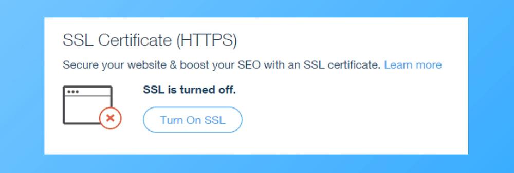 SSL Wix